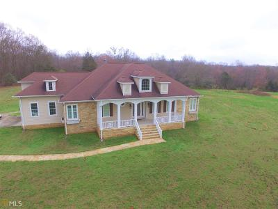 Elbert County, Franklin County, Hart County Single Family Home For Sale: Adams Town Rd
