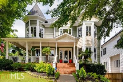 Inman Park Single Family Home For Sale: 988 Carmel Ave