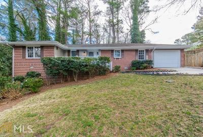 Atlanta Single Family Home New: 2951 Briarcliff Road