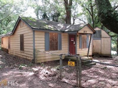 Stone Mountain Single Family Home New: 811 Sheppard