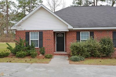 Statesboro Condo/Townhouse For Sale: 107 Lindsay Ct #107A&amp