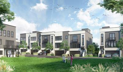 Norcross Condo/Townhouse New: 125 Kelly St #22
