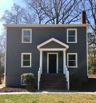 Smyrna Single Family Home New: 3138 Dunn St