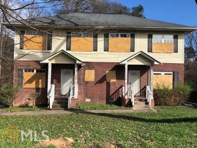 Atlanta Multi Family Home New: 2587 Whiting Street NW
