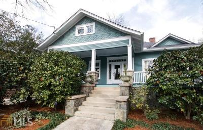 Fulton County Single Family Home For Sale: 362 Peachtree Ave