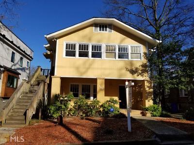 Virginia Highland Multi Family Home Under Contract: 789 Barnett St