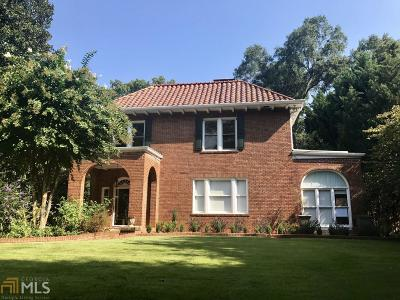 Single Family Home For Sale: 1316 N Decatur Rd