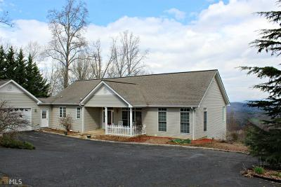 Blairsville Single Family Home For Sale: 160 Enotah Ln