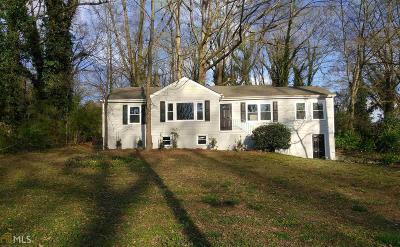 Hapeville Single Family Home For Sale: 3036 Sylvan Rd