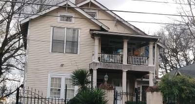 Old Fourth Ward Multi Family Home For Sale: 383 Irwin St