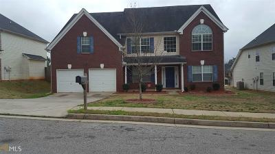 Clayton County Single Family Home Under Contract: 11095 Genova Ter