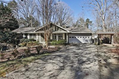 Buford Single Family Home For Sale: 6244 Lakeview Dr