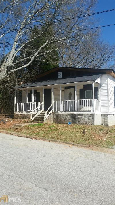 Coweta County Single Family Home For Sale: 22 Melson St #22&2