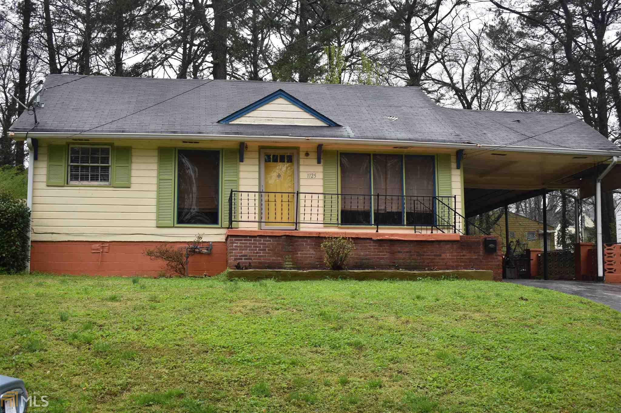 1125 SW Edgefield Dr, Atlanta, GA   MLS# 8334968   Robbie