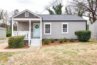 Decatur Single Family Home For Sale: 465 Morgan Pl