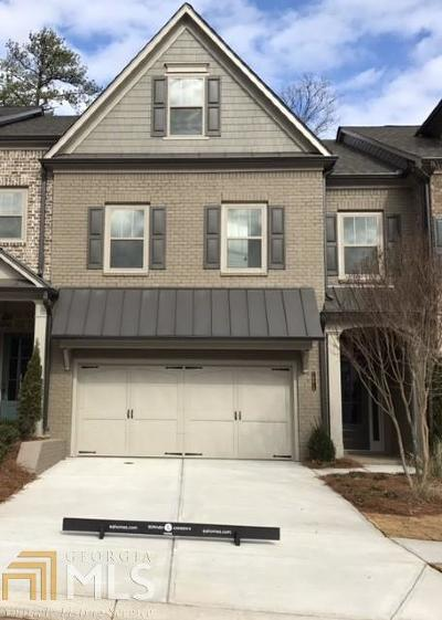 Roswell Condo/Townhouse For Sale: 3299 Artessa Ln