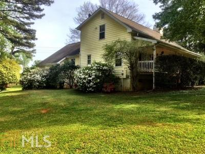 Rockdale County Single Family Home For Sale: 3351 Flat Shoals Rd