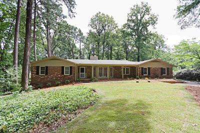 Fulton County Single Family Home For Sale: 5305 Peachtree Dunwoody