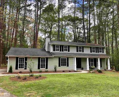 Peachtree City Single Family Home New: 611 Golfview Dr