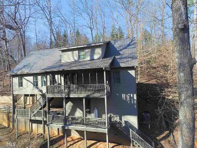 Dahlonega Single Family Home For Sale: 191 Hide Away