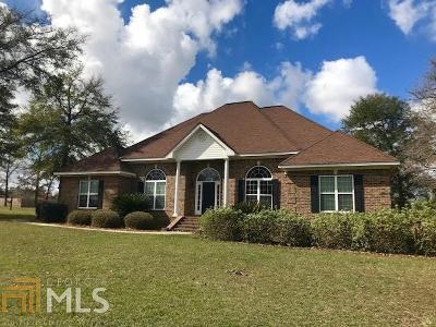Statesboro Single Family Home For Sale: 123 Blue Ridge Dr