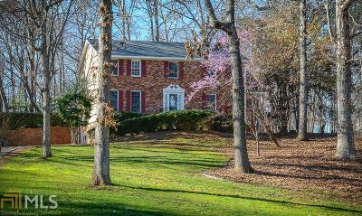 Roswell Single Family Home Back On Market: 100 Grassnut Ct