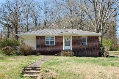 Carrollton Single Family Home Under Contract: 598 Pleasant Ridge Rd