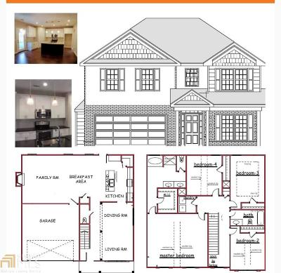 Mableton Single Family Home New: 1349 Vonda Ln