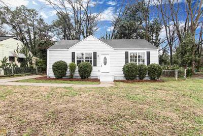 Decatur Single Family Home Under Contract: 2738 McAfee Rd