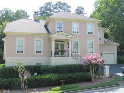Johns Creek Single Family Home For Sale: 390 Rainbow Row Ct