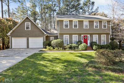 Roswell Single Family Home Under Contract: 4870 Kings Wood Dr