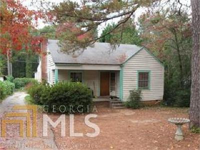 Griffin Single Family Home For Sale: 327 Hammond Dr