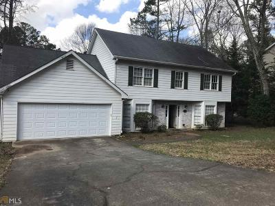 Roswell Single Family Home New: 9143 Branch Valley Way