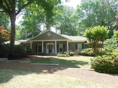 Sandy Springs Single Family Home New: 8885 Huntcliff Lake Ct