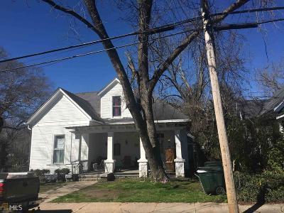 Elberton GA Multi Family Home New: $119,000