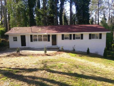 Dekalb County Single Family Home For Sale: 4040 Brookcrest Cir