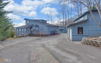 Hiawassee Single Family Home For Sale: 238 Shake Rag Rd