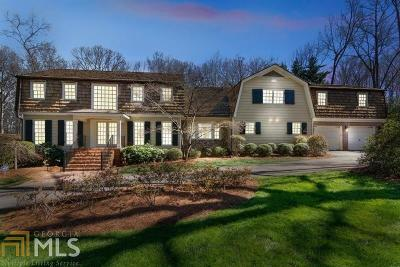 Johns Creek Single Family Home For Sale: 9825 Buice Rd