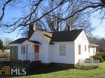 Elbert County, Franklin County, Hart County Single Family Home New: 524 Hartwell Rd