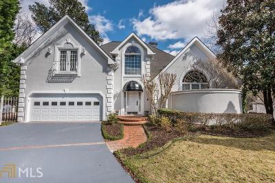 Sandy Springs Single Family Home New: 145 Barnard Pl