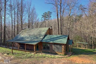 Clayton, Clarkesville, Tiger Single Family Home For Sale: 815 Rainey Mtn Rd