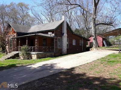 Newnan Single Family Home For Sale: 9 3rd St