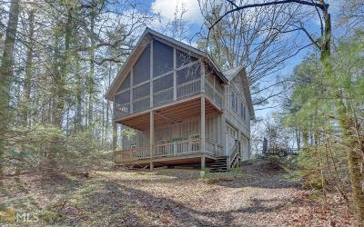 Rabun County Single Family Home New: 5233 Crow Creek Rd