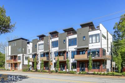 Atlanta Condo/Townhouse New: 292 Gordon Ave #E