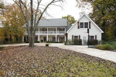 Sandy Springs Single Family Home New: 9065 Huntcliff Trce