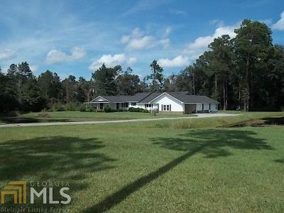 Statesboro Single Family Home For Sale: 1710 Friendship Church