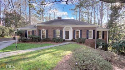Fulton County Single Family Home New: 1160 Winding Creek Trl
