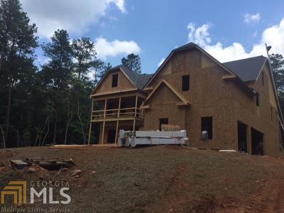 Coweta County Single Family Home For Sale: Hal Jones Rd #3