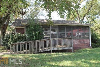 Elbert County, Franklin County, Hart County Single Family Home Under Contract: 5910 Royston Hwy