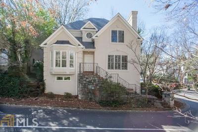 Atlanta Single Family Home New: 1269 Wildcliff Pkwy